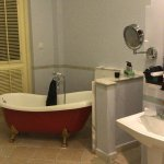 Generously designed bathrooms