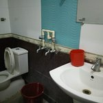 very poor and cheap fittings in the bathroom