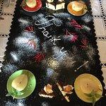 Our dessert platter- WOW