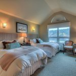 The Avalon Room #2, this room has 2 double beds