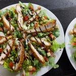 Grande salade croustillante