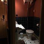 Separate toilet/hand basin