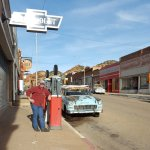 Main street in Lowell, outside Bisbee Breakfast Club