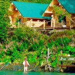 2 of our cabins from the river