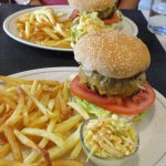 Tasty burgers - beware they are huge!