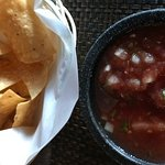 Even the chips and salsa were disappointing.