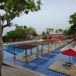 lindas piscinas, una área recreativa para toda la familia