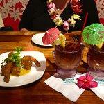 Coconut Shrimp Appetizer and Mai Tais!