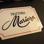 Foto de Trattoria Marione
