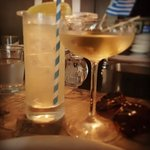 Stylish drinks before dinner at The Apollo Potts Point.