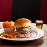 Craft burgers at RARE Bar & Grill.