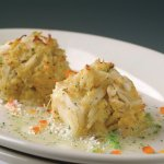 Sizzling Blue Crab Cakes