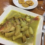 Authentic Caribbean Fish with Plantain and Yucca