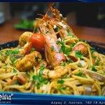 Sea food spagetti