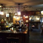 Cosy warm bar