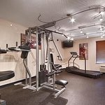 Fitness Center for you to make sure you get your exercise!