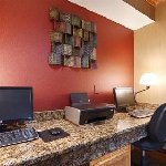 Got to work? We have the business center to help you get it done!