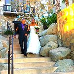 WALKING THE BRIDE DOWN THE AISLE DEC 2017