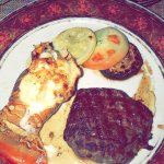 Surf and turf from the steakhouse