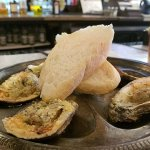 Char broiled oysters - quite tasty