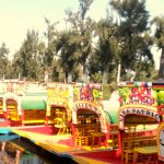 Colorful port of Xochimilco