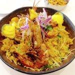 Mariscos (Shrimp) With Rice