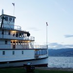 SS Sicamous at Dusk