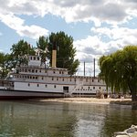 SS Sicamous from the rock pier