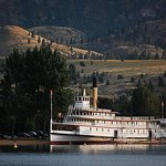The SS Sicamous, on the beach in Penticton