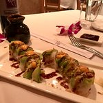 Ebi roll appetizer