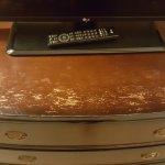 TV dresser ... in distress