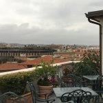 Terraza con encanto en Roma