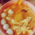 If you want something like in this pic, just order for extra fishballs, extra chicken.