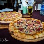Capicciosa and Tropicale Pizzas