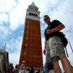 Shan and the Campanile of Venice!