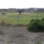 view of the golf course, just outside the lighthouse property