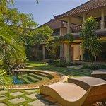 Rumah Bali Foto