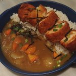 Japanese Crispy Chicken Curry
