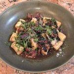 House Made Gnocchi, Slow Cooked Lamb, Confit Shallots, Spinach