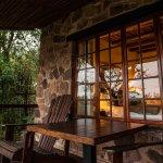 Balcony overlooking Gwahfumbe Valley