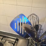 Cooking left on utensils