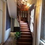 escalier des Juniors suites