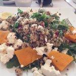 Quinoa Salad - huge and delicious