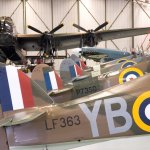 The historic planes of the BBMF