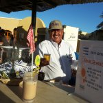 Nashaat maakt de beste ice-coffee van El Gouna!!!!