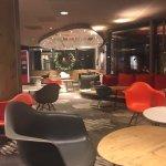 Hotel lounge/lobby area