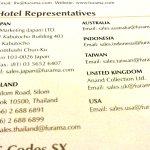 Hotel representatives