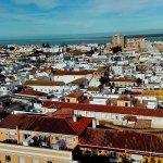 vistas de Sanlucar desde el palacio