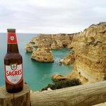 Sagres at the coast of Portugal; always good to have a buddy with you