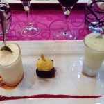 trio de desserts au citron